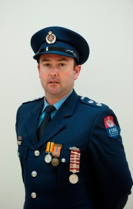 Chief Fire Officer Jeremy Greenwood