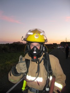 Learning to use Breathing Apparatus (BA) - a key firefighting skill