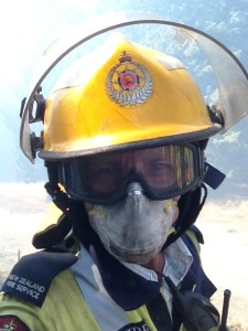 The reality of summer scrub fires - hot, dry, dusty and dirty work